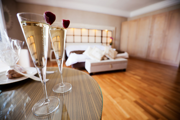 Upgrade to a Romantic Suite